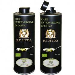 """Olio extravergine di Oliva Biologico """"Re Myda"""" 500ml - Categoria superiore"""