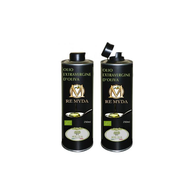 """Olio extravergine di Oliva """"Re Myda"""" 500ml - Categoria superiore"""